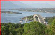 The Skye Bridge & Eilean Ban Lighthouse